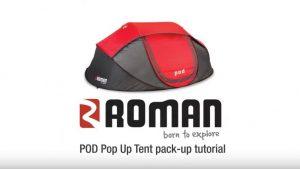 Roman | POD Pop Up Tent